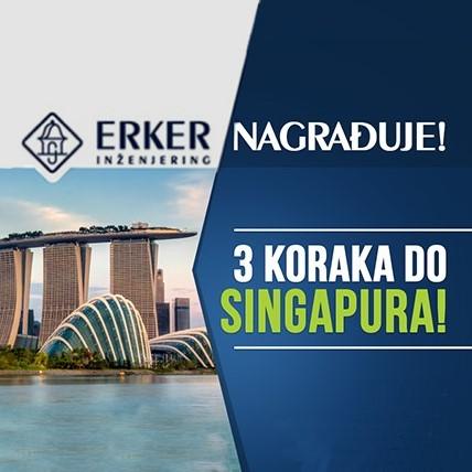 Tri koraka do Singapura
