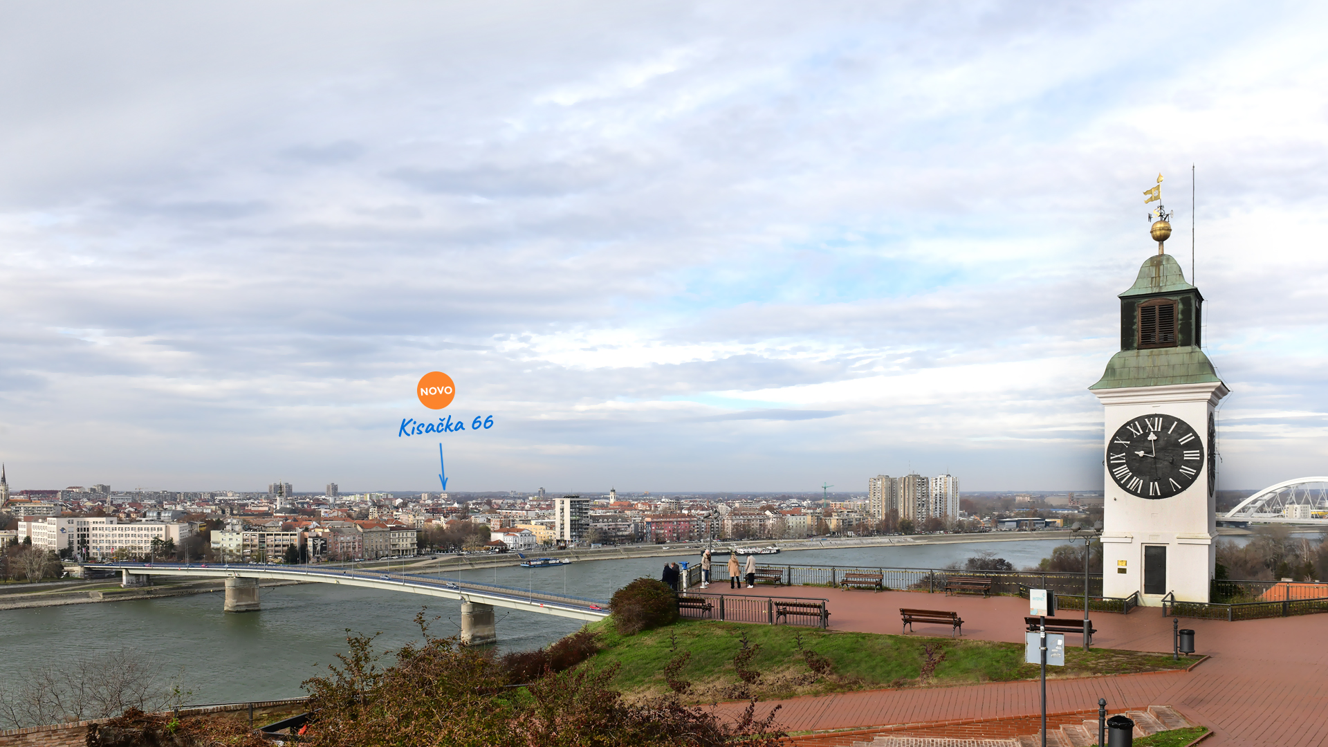 Novi Sad panorama