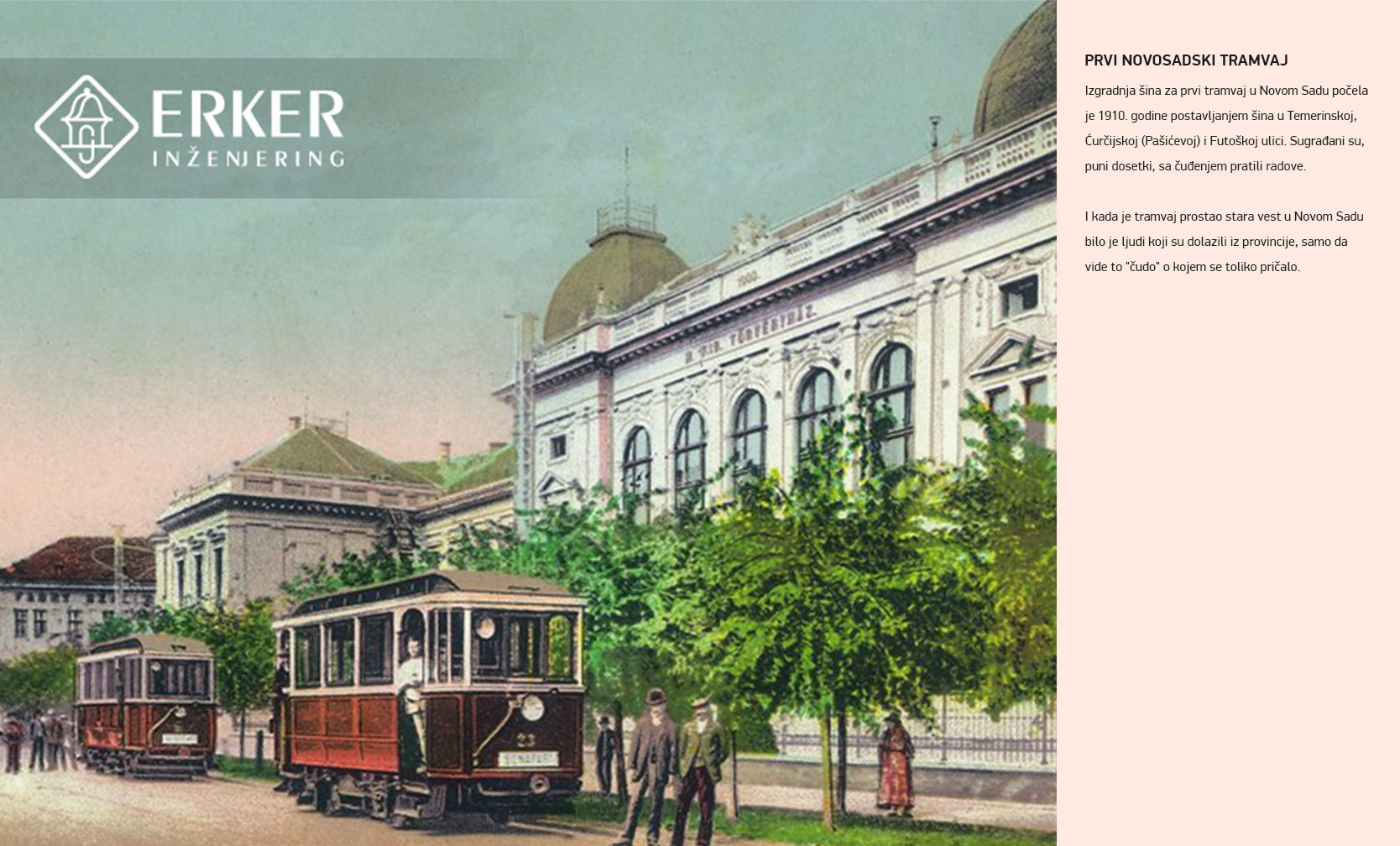 Prvi novosadski tramvaj