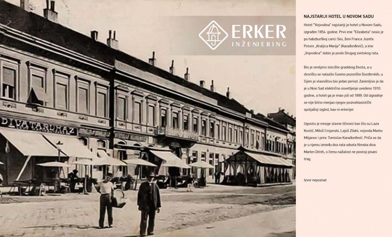 Najstariji hotel u Novom Sadu