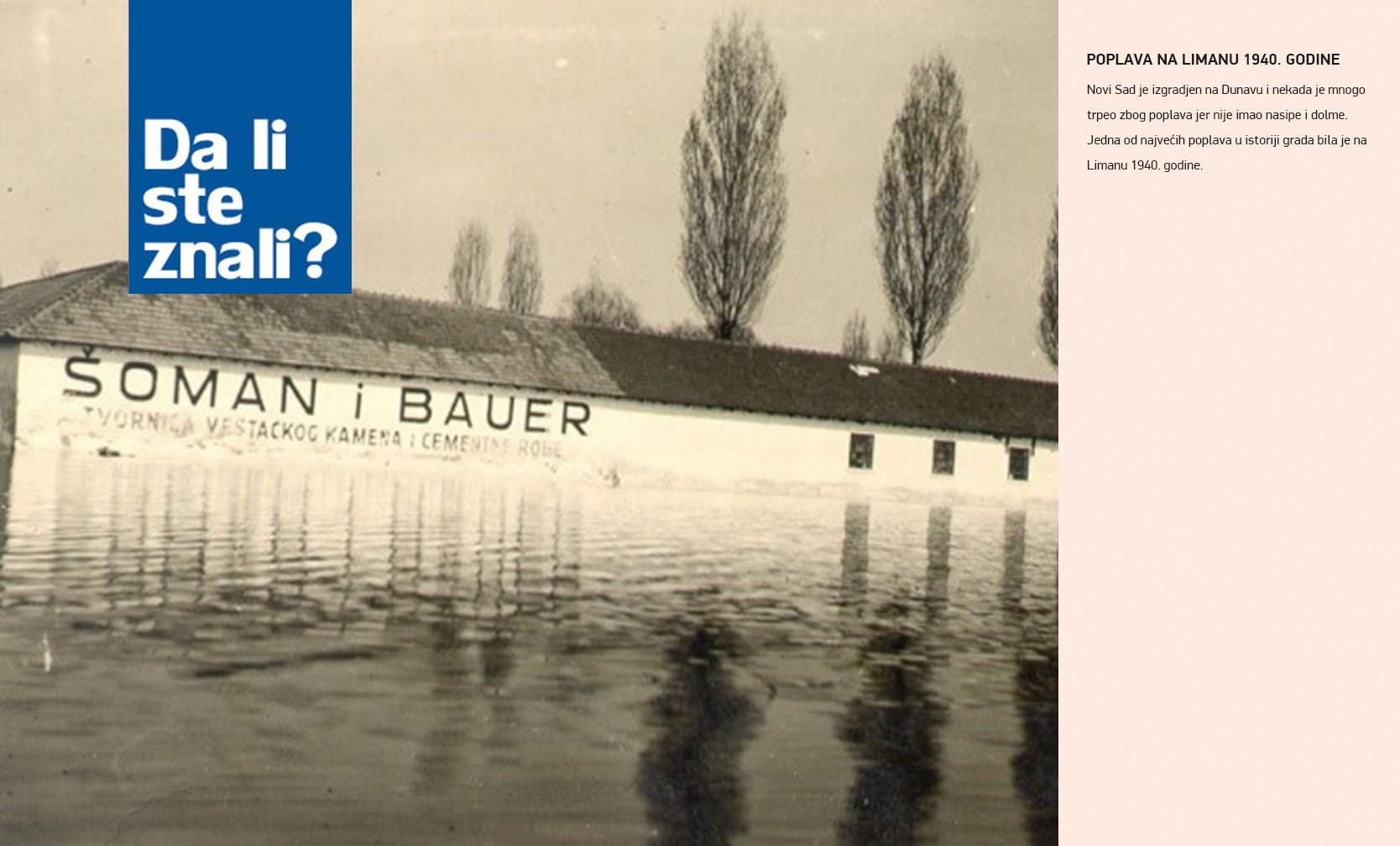 Poplava na LImanu 1940. godine