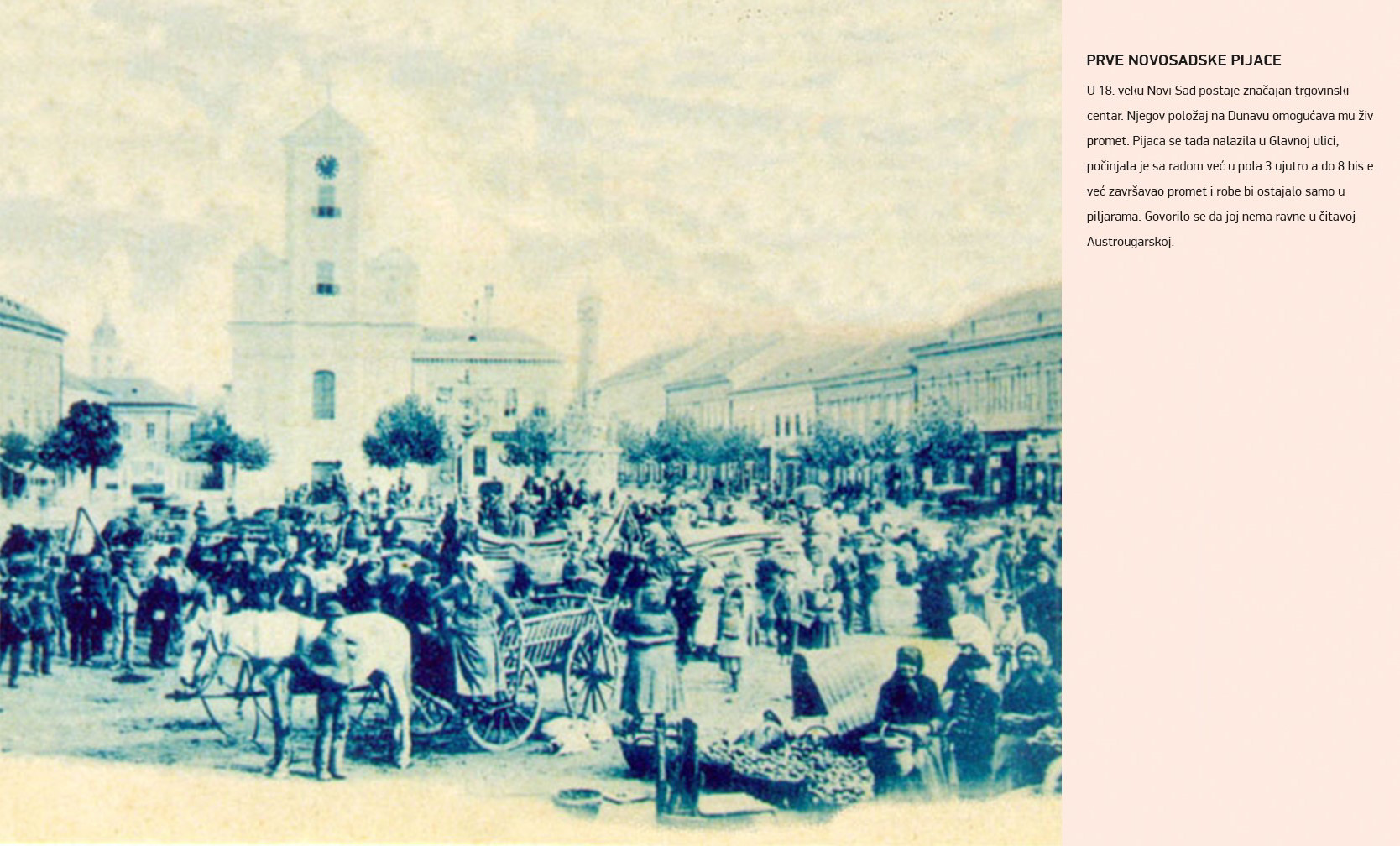 Prve novosadske pijace