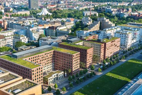 Zeleni krovovi u Berlinu