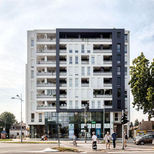 Zgrada u Futoškoj 57, arhitekta Lazar Kuzmanov, završena 2018 godine