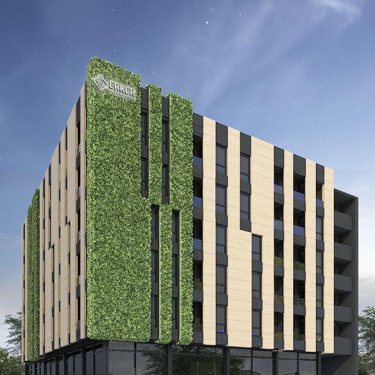 Kisačka 66, projekat, arhitekta Lazar Kuzmanov, početak gradnje planiran 2020. godine