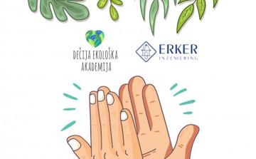 Kompanija Erker inženjering podržava rad Dečije ekološke akademije